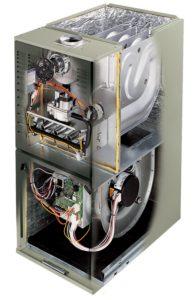 furnace XV80_UF_Cutaway