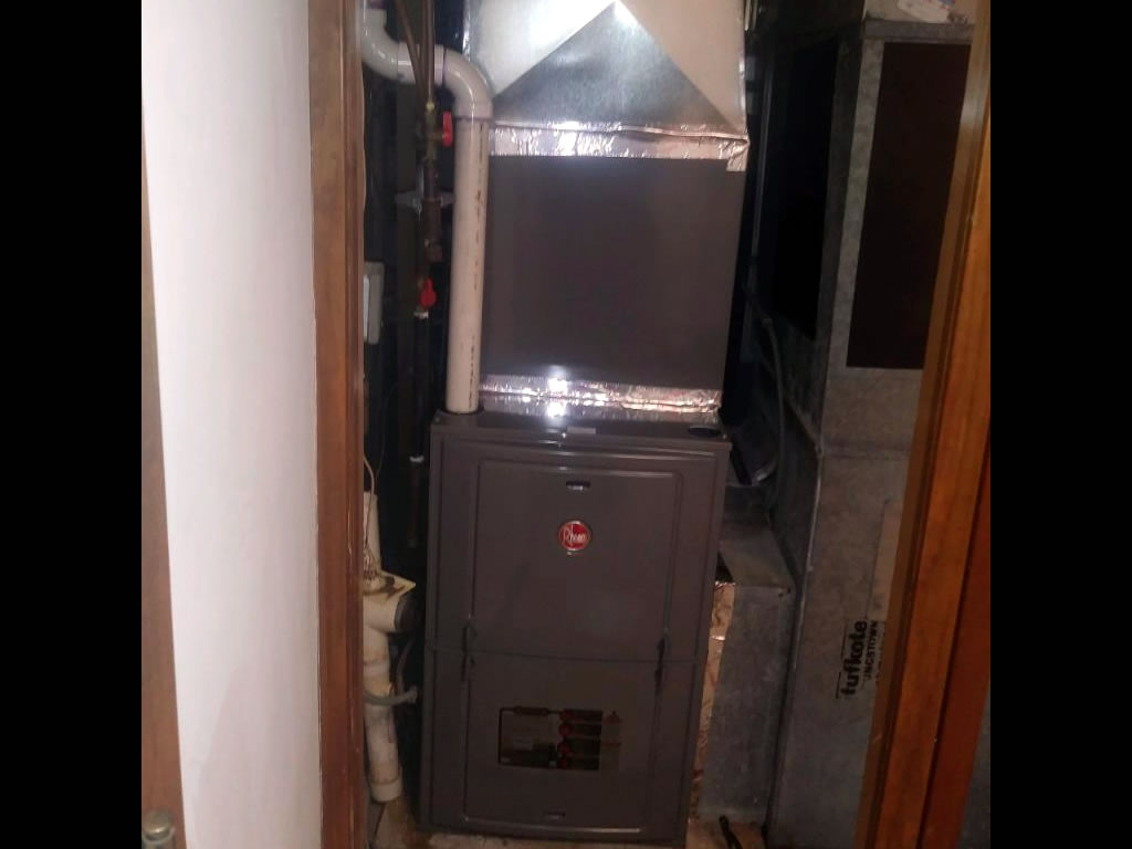 Brooklyn Center Furnace Installation