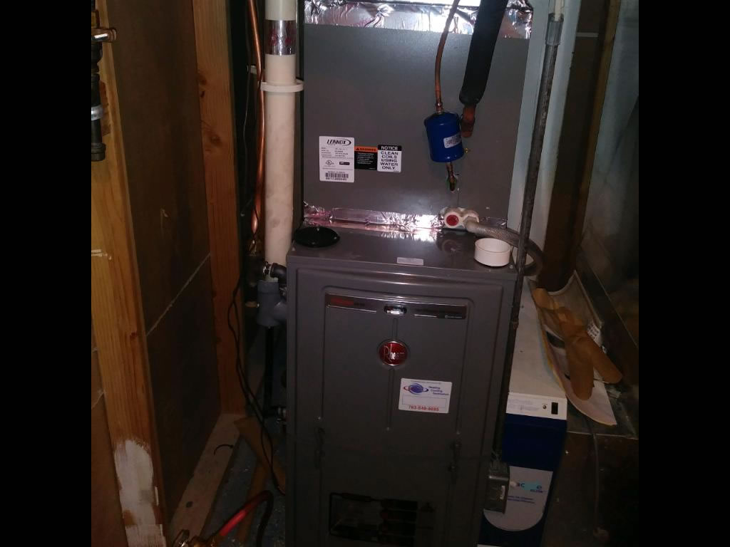 furnace installation in Champlin MN